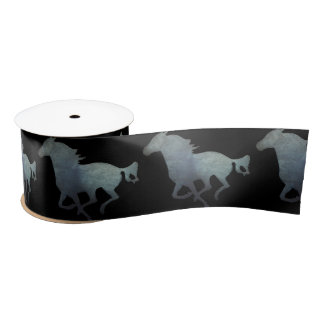 Running Horse Satin Ribbon