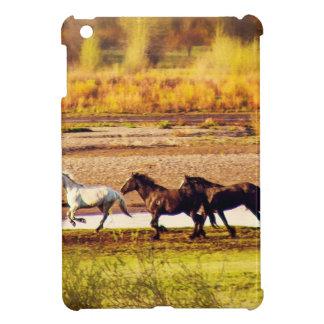 Running Horses iPad Mini Covers