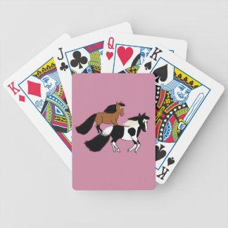 Running Horses Poker Deck