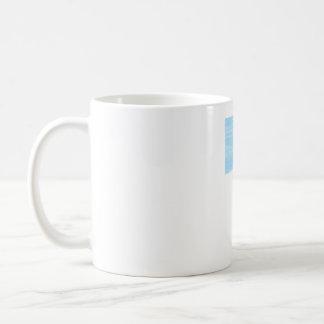 Running in the wind coffee mug