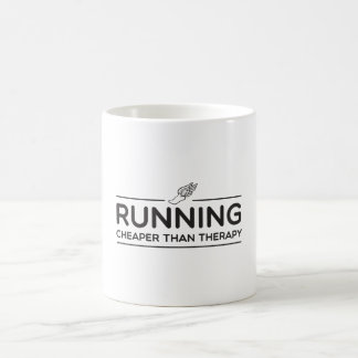 Running is Cheaper than Therapy Magic Mug