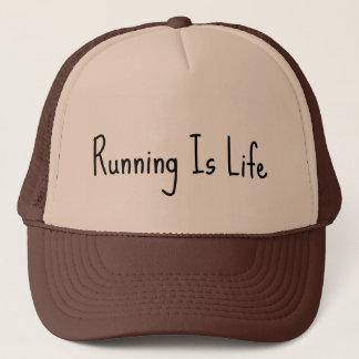 Running is Life Trucker Hat