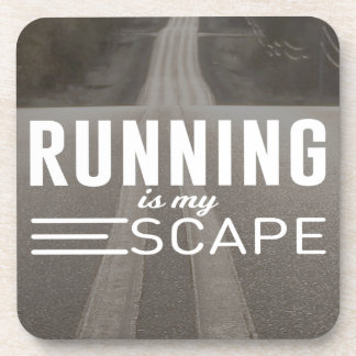 Running Is My Escape Coaster