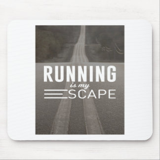 Running Is My Escape Mouse Pad