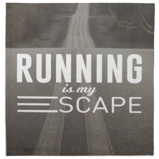 Running Is My Escape Napkin