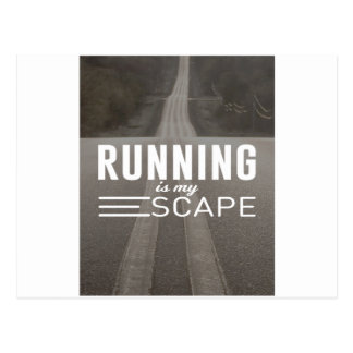 Running Is My Escape Postcard