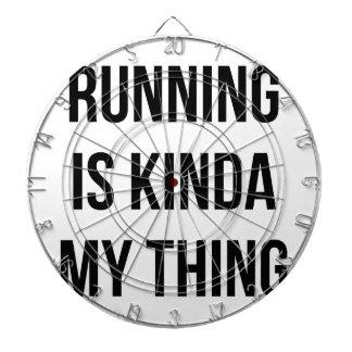 Running Is My Thing Dartboard