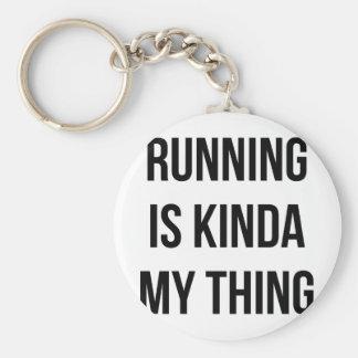 Running Is My Thing Key Ring