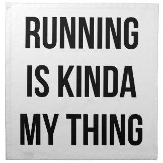 Running Is My Thing Napkin