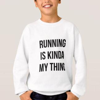 Running Is My Thing Sweatshirt