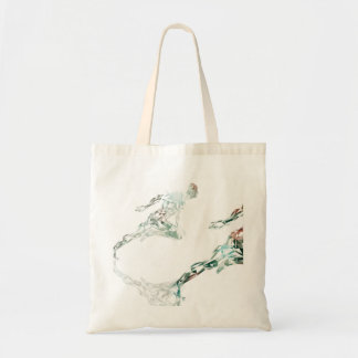 Running Man for Sports Business and Technology Tote Bag
