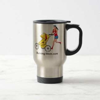 Running Mom Coffee Travel Mug