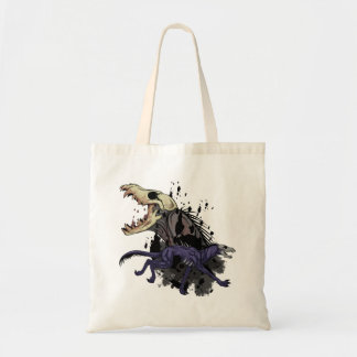 Running Monster Budget Tote Bag