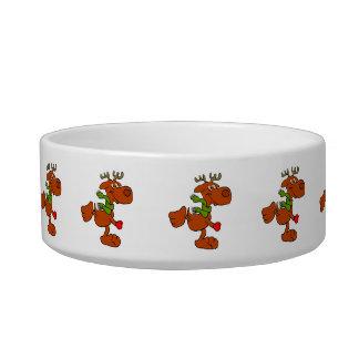 Running moose bowl