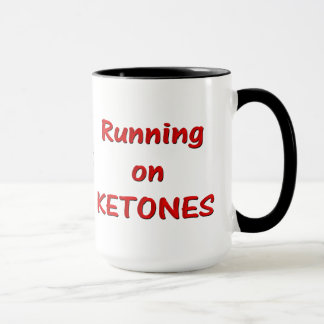 Running On Ketones Mug