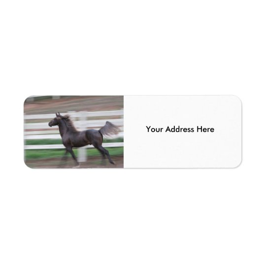 Running Proud Label Return Address Label