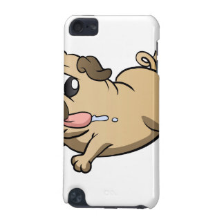running pug cartoon iPod touch 5G cases