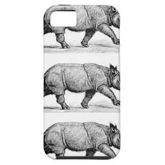 Running Rhinos art iPhone 5 Case