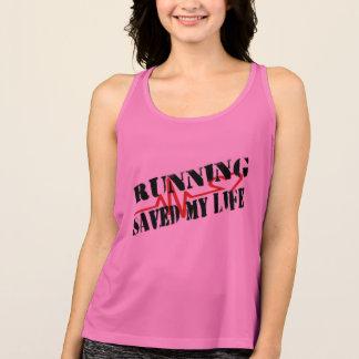 Running Saved My Life Singlet