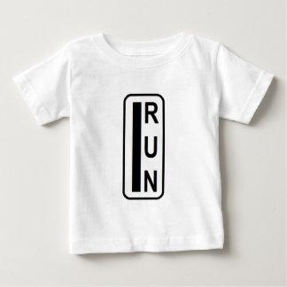 Running saves lives baby T-Shirt