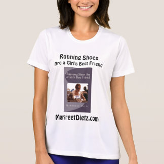 Running Shoes Are a Girl's Best Friend T-Shirt