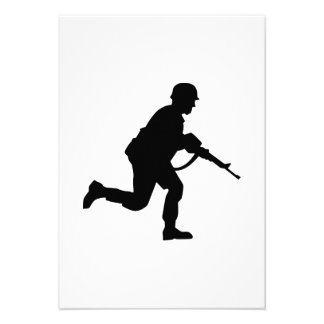 Running Soldier Invites
