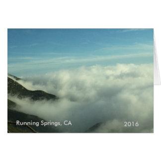 Running Springs, CA Scenery Card