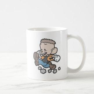 Running Spucky Basic White Mug