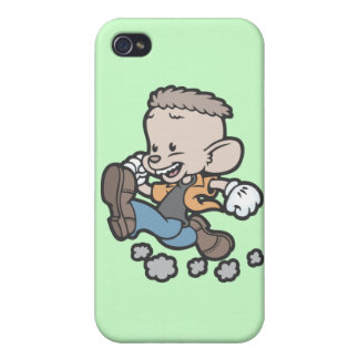 Running Spucky iPhone 4 Cover