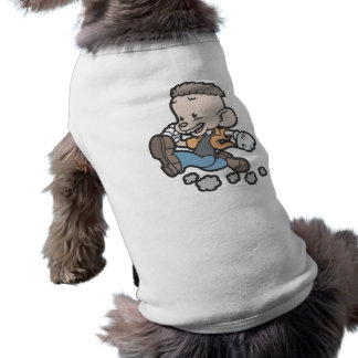 Running Spucky Sleeveless Dog Shirt