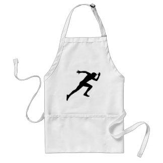 running standard apron
