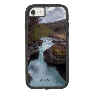 Running Stream Scenery Personalized Initials Case-Mate Tough Extreme iPhone 8/7 Case