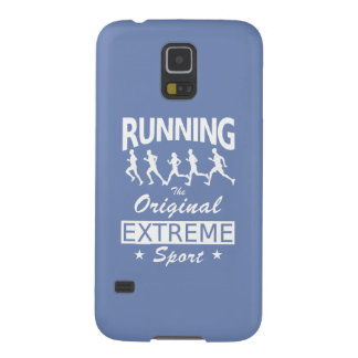 RUNNING, the original extreme sport (wht) Cases For Galaxy S5
