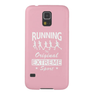 RUNNING, the original extreme sport (wht) Galaxy S5 Case