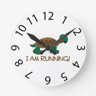 Running Tortoise Clock