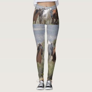 Running Wild and Free in Sand Wash Basin Leggings