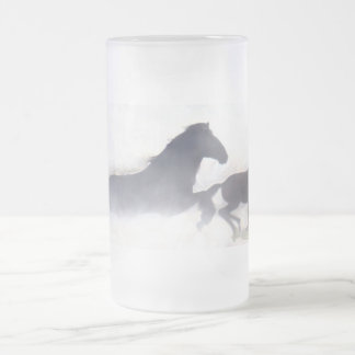 Running Wild with the Mustangs frosted mug