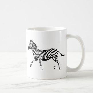Running Zebra Coffee Mug