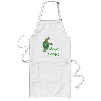 "RunningTurtle "" Slow Cook!"" Apron"