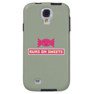 Runs in Sweets funny Z9s1b Galaxy S4 Case