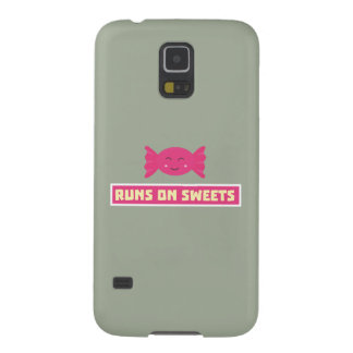 Runs in Sweets funny Z9s1b Galaxy S5 Cover