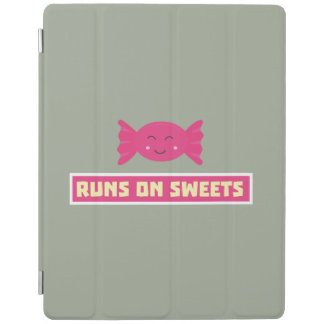 Runs in Sweets funny Z9s1b iPad Cover