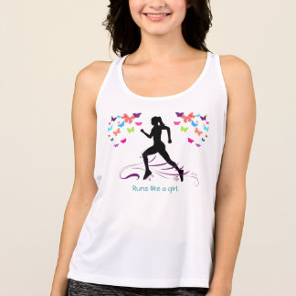 Runs Like a Girl Singlet