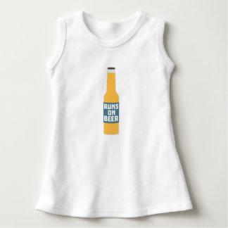 Runs on Beer Bottle Zcy3l Dress
