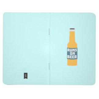 Runs on Beer Bottle Zcy3l Journal