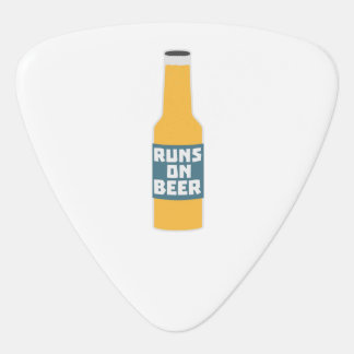 Runs on Beer Bottle Zcy3l Plectrum