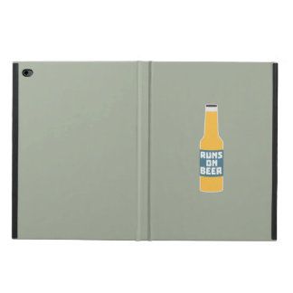 Runs on Beer Bottle Zcy3l Powis iPad Air 2 Case