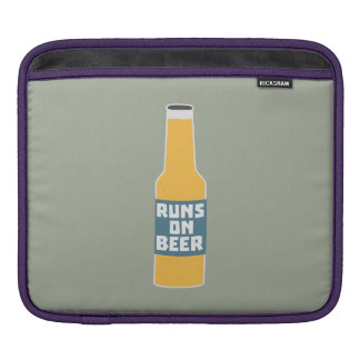 Runs on Beer Bottle Zcy3l Sleeves For iPads