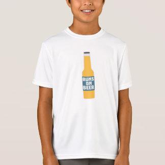 Runs on Beer Bottle Zcy3l T-Shirt