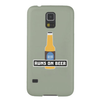 Runs on Beer Z7ta2 Case For Galaxy S5